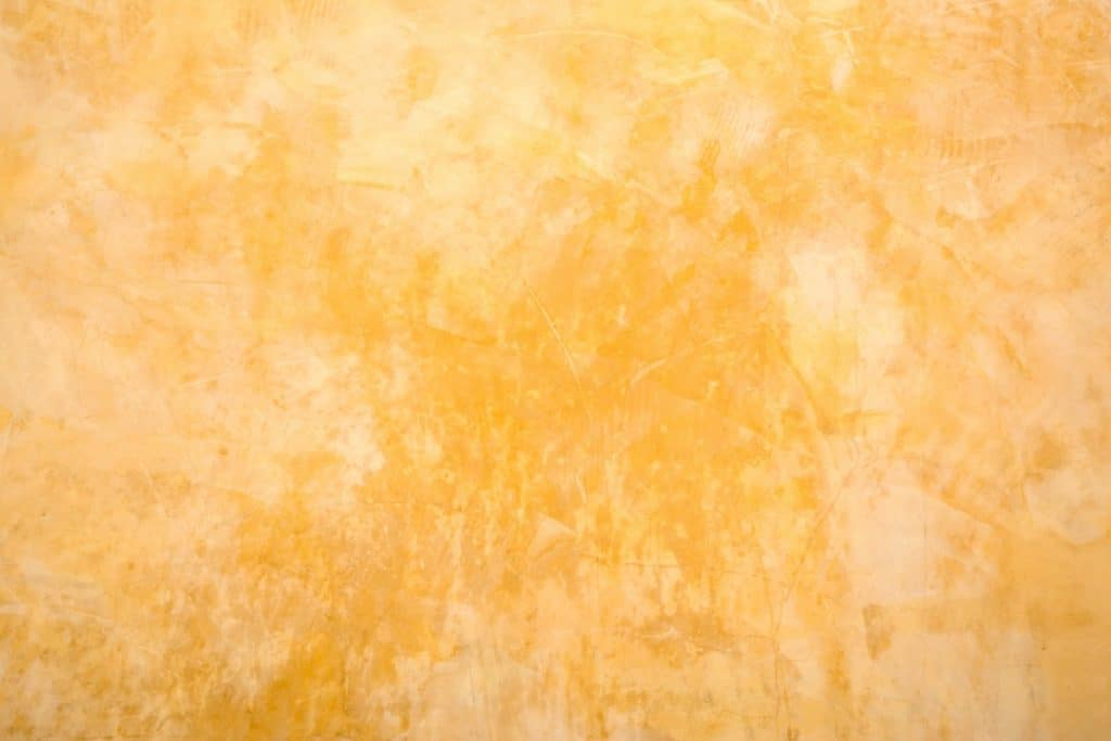 Yellow acid stained concrete