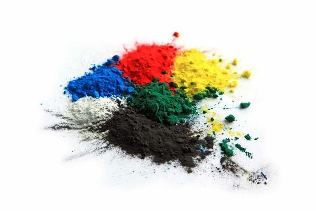 Color pigments that can be added to the concrete mix to keep the concrete cooler in the sun.