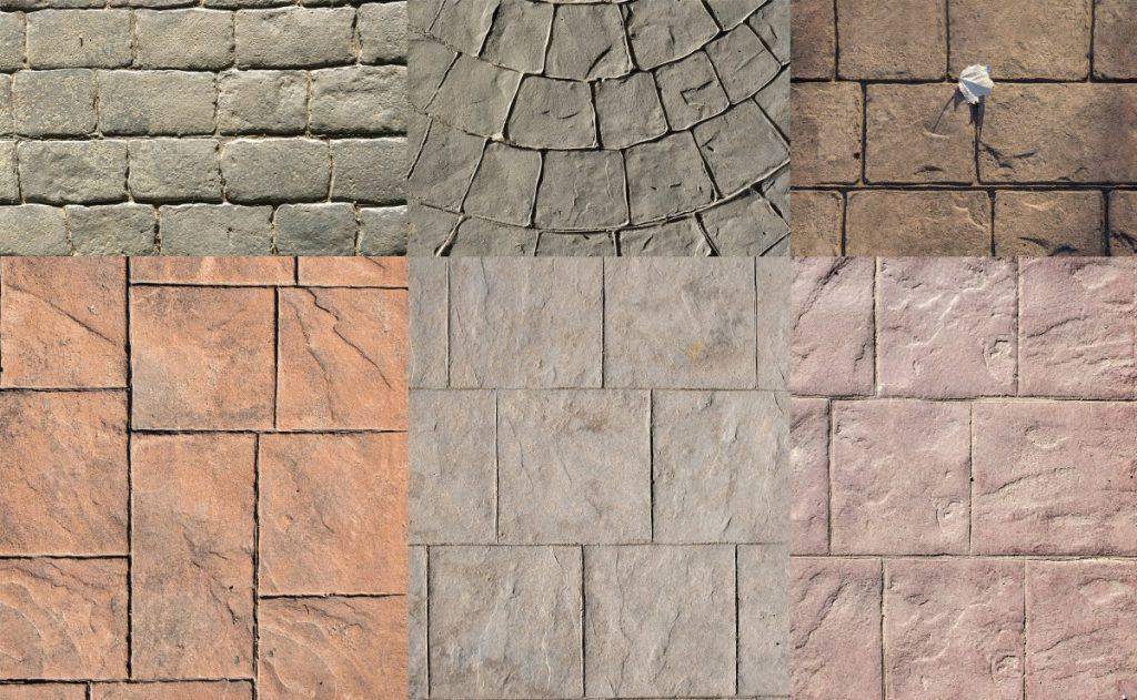 Stamped concrete made with the best concrete mixes for stamping