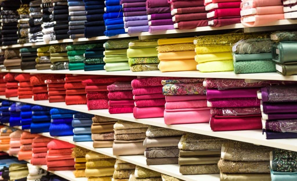 Fabrics to cover walls with