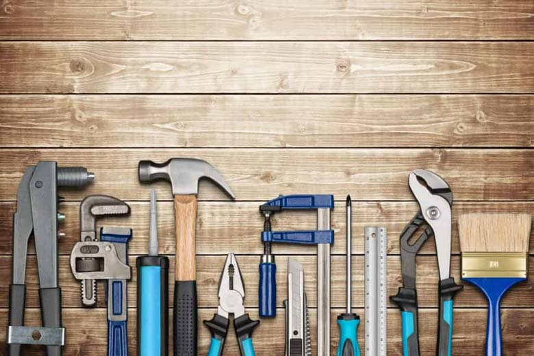 Tools for DIY concrete projects