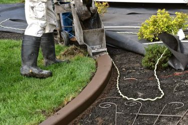 Installing Concrete Edging: Tips to save money and look great