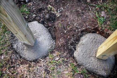 How To Set a Post in Concrete Without Mixing